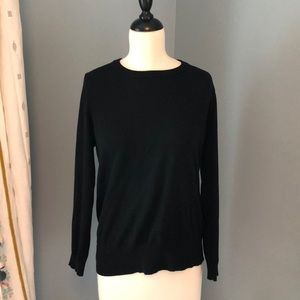 Black J. Crew Sweater